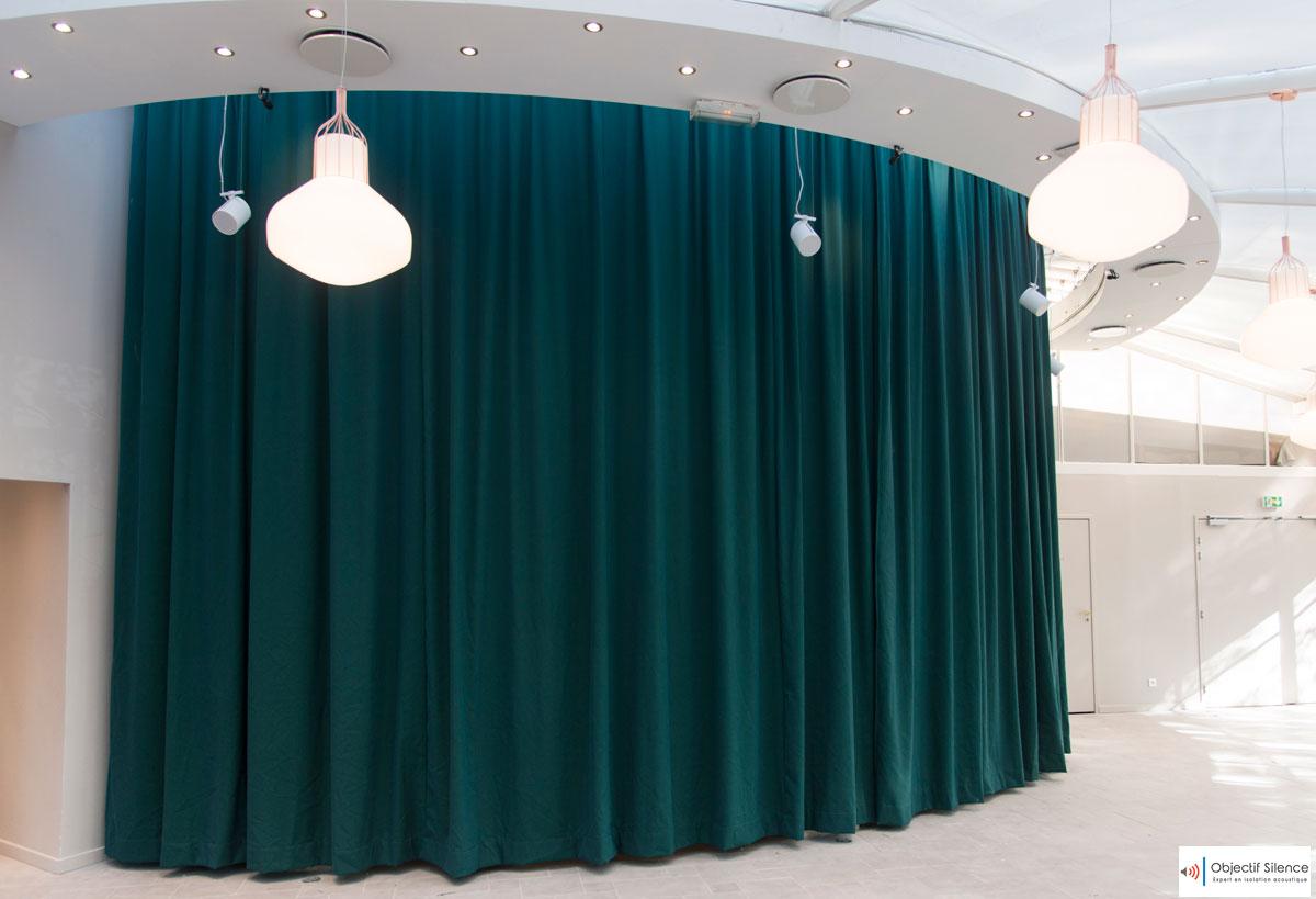 Pavillon Elysée : l'isolation acoustique « à la demande » une réalisation haut de gamme d'Objectif Silence