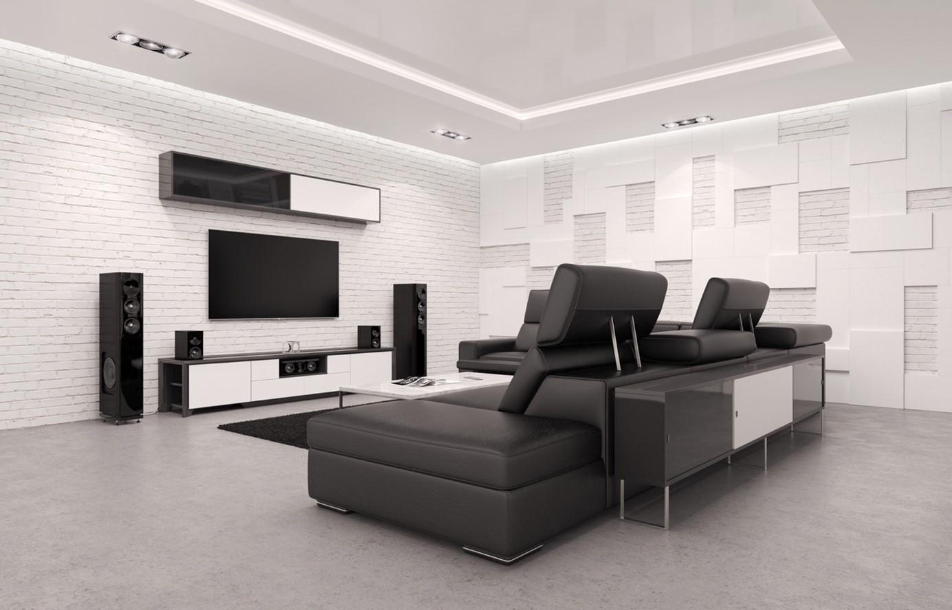 Optez pour une expérience de cinéma optimale grâce à une bonne isolation acoustique.