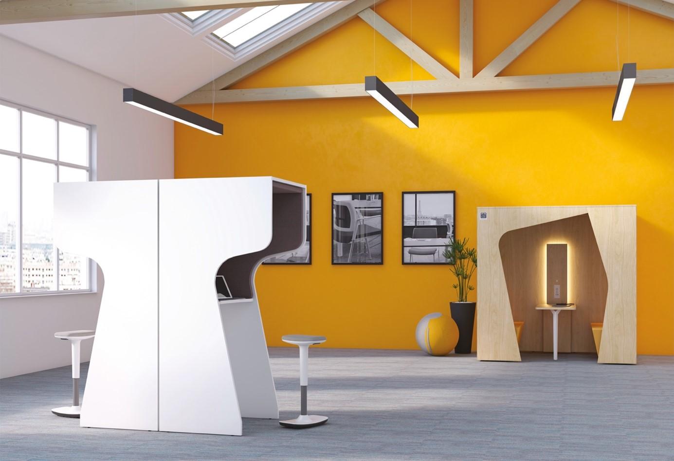 Créer un espace silencieux pour les appels téléphoniques en coworking grâce aux cabines acoustiques