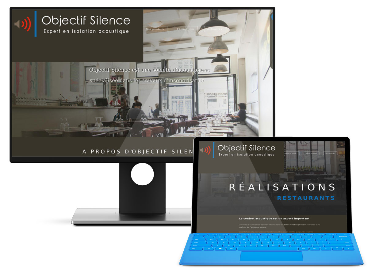 Un nouveau site internet pour Objectif Silence