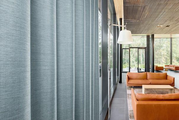Les propriétés du tissu acoustique des rideaux isolants